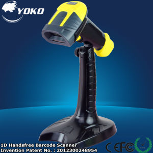 Yk-960b Automatic 1d Handfree Single Line Barcode Scanner pictures & photos