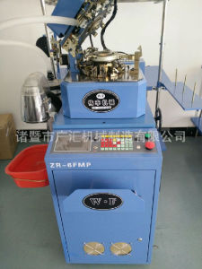 6f Fully Computerized Plain Socks Knitting Machine High Speed and High Production