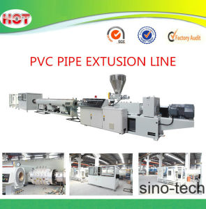 Plastic Extruder Line for PVC Pipe Hose pictures & photos