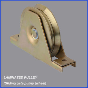 Factory Wholesale High Quality Laminated Door Pulley/Wheel pictures & photos