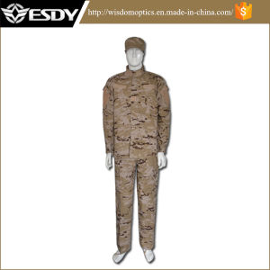 Spanish Desert SGS Tactical Professional Military Camouflage Combat Airsoft Uniform pictures & photos
