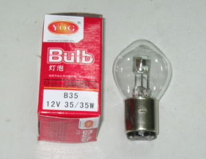 Yog Motorcycle Parts Motorcycle Bulb of Headlight B35 12V35W35W pictures & photos