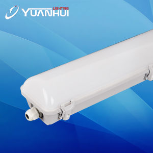 Residential Plastic Housing and Diffuser LED Tri-Proof Lamp pictures & photos