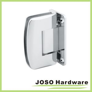 90 Degree Glass to Wall Brass Bathroom Hinge Bh6001A pictures & photos