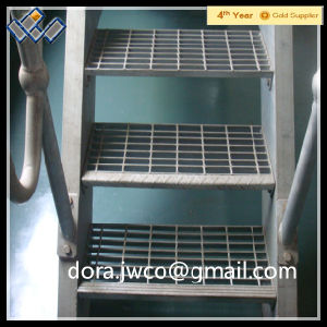 Jiuwang Steel Grating Stair Tread 32X5 pictures & photos
