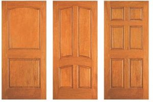Timber Door/Wood Door/ Solid Wooden Door with Competitive Price pictures & photos