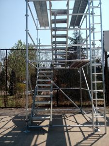 Steel Ringlock System Scaffolding pictures & photos