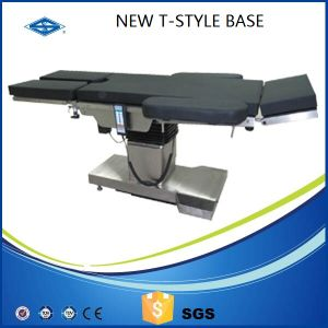 304 Stainless Steel X Raying Hospital Bed Electric Operating Table pictures & photos