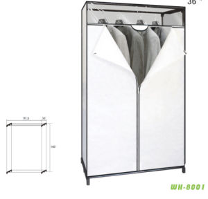 Fashion Style Cheap Costomized Bedroom Wardrobe (wh8001)