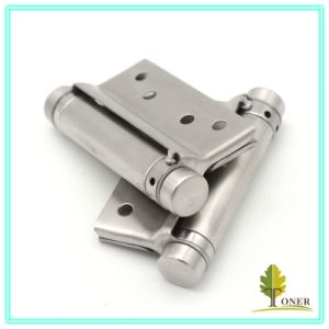 Stainless Steel 201 Spring Hinge/ 3-Inch (1.5mm) Single Action Hinge pictures & photos