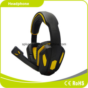 New Style Blue Computer Game Headphone pictures & photos