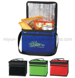 Custom Reusable Non-Woven Thermal Insulated Ice Picnic Lunch Cool Cooler Bag for Promotional (M. Y. C. -003) pictures & photos