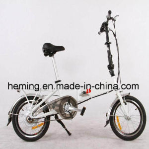 Folding Electric Bikes with 16 Inch Aluminum Frame pictures & photos