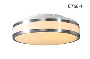 Acrylic Brushed Nickel LED Flush Mount Ceiling Lighting pictures & photos
