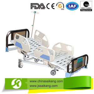 Medical Bed with Aluminum Alloy Side Rail pictures & photos