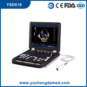 Ce Hospital Medical Equipment Laptop 4D Color Doppler Ultrasound Scanner pictures & photos