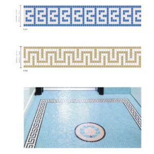 Border for Swimming Pool Blue pictures & photos