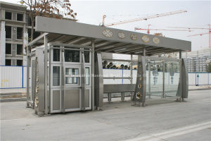 Air-Condotion Bus Shelter for Modern (HS-BS-E023) pictures & photos
