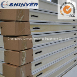 150mm Polyurethane PU Sandwich Panel with Color Steel Plate pictures & photos