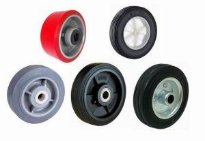 Equipment Custom Rubber Coated Wheel pictures & photos
