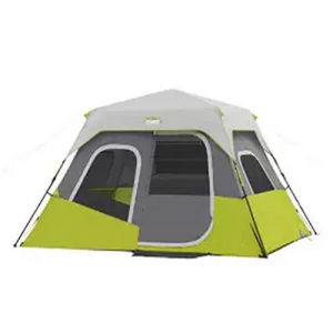 6 Person Instant Cabin Tent - 11′ X 9′ Backpacking Tent