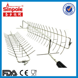 Stainless Steel BBQ Grill Basket with Ce/FDA Approved pictures & photos
