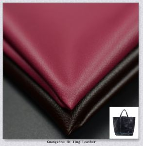 Watter Proof Eco-Friendly PU Leather for Shoes, Bag pictures & photos