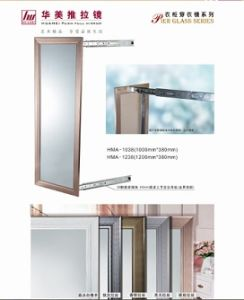 Closet Storage Pull out Aluminum Mirror Glass pictures & photos