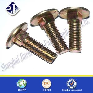 Carriage Bolt (Ts16949) with Color Zinc Plated pictures & photos