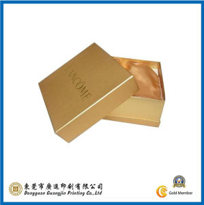 2015 Gold Cosmetic Paper Box (GJ-Box742) pictures & photos