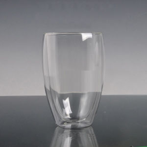 360ml Double Wall Glass Coffee Cup pictures & photos