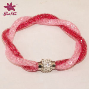Fashion Crystal Jewelry Charm Bracelet (2016 Gus-Fsb-024)
