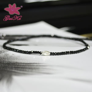 Popular Jewelry Black Spinel Charm Necklace Gus-Fsn-005 pictures & photos