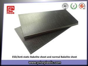 ESD/Anti-Static Materials, Black Bakelite Sheet pictures & photos