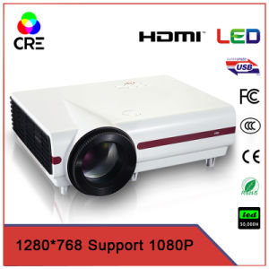 20, 000 Hours HDMI Video LCD Home Cinema Projector pictures & photos