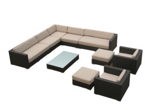 Home Furniture Rattan Outdoor Sofa pictures & photos