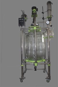 Jacketed Glass Reactor Heb-150L pictures & photos