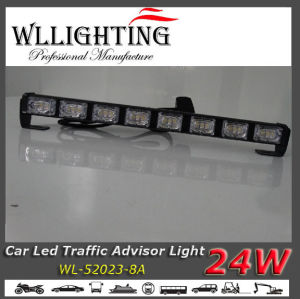 LED Warning Light, Car Signal Light Bar Amber/White pictures & photos