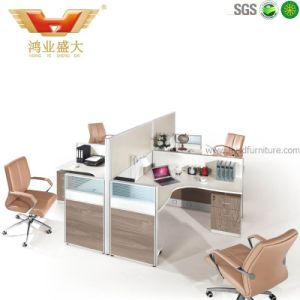 High Quality Hot Sale Melamine Office Workstation for Staff (HY-P11) pictures & photos