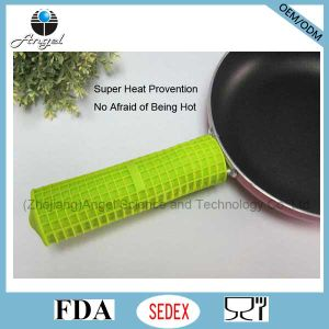 Non-Toxic Silicone Pan Pot Handle Cover Silicone Rubber Handle Cover Sg28