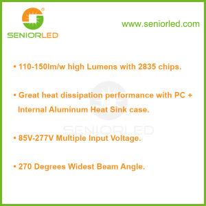 Single Pin Aluminum PC T8 Fluorescent Tube LED/LEDs Lamp pictures & photos
