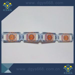 Security Ticket in Roll Packing pictures & photos