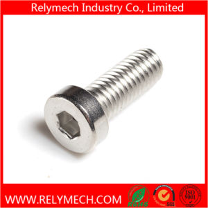 Stainless Steel Hex Socket Thin Head Cup Head Bolt Machine Screw M3-M10 pictures & photos