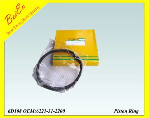 Komatsu 6D108 Piston Ring for Excavator Engine (Part number: 6221-31-2200) pictures & photos