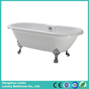Acrylic Simple Bathtub with Four Claw Feet (LT-18T-2) pictures & photos