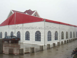 High-Classed Red PVC Wedding Party Banquet Tent pictures & photos