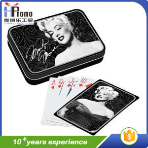 Playing Cards Set in Tin Box pictures & photos
