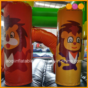 Factory Price Lion Inflatable Jumper Bouncer House Frozen Bouncer (AQ13231-1) pictures & photos