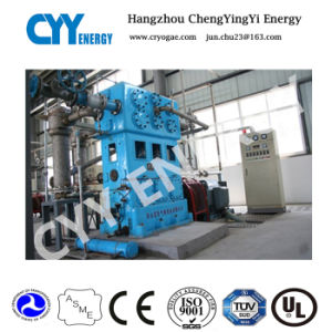 Three Rank Five Stage Water Cooling Screw Oxygen Air Compressor pictures & photos