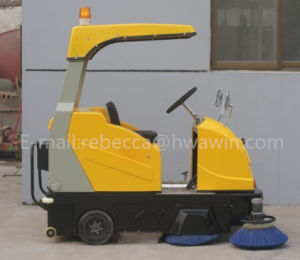 Electric Power Road Sweeper Machine with Ce (HW-E8006) pictures & photos